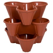 Pure Garden Stackable Planters 3-Pack (M150020)