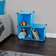"""Everyday Home 14"""" Storage Cubes Blue 3-Pack (M050008)"""