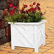 Pure Garden Plant Box Holder White (M150021)