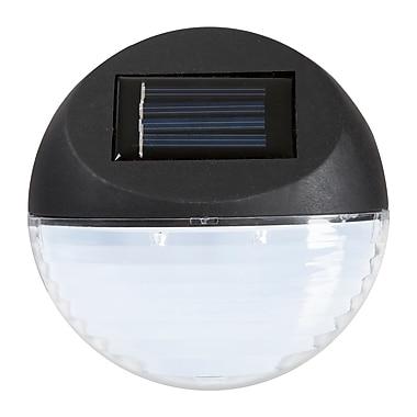 Pure Garden LED Solar Path Lights 4-Pack, Black (M150036)