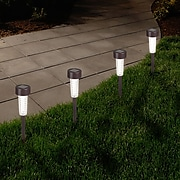Pure Garden LED Solar Path Lights Bronze (M150089)