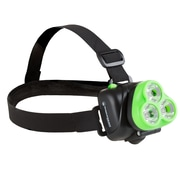 Wakeman Outdoors LED Head Lamp Green (M570039)