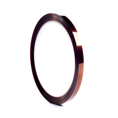 Bertech Kapton Polyimide Adhesive Tape, 1/4 inch wide by 36 yards long (KPT-1/4)
