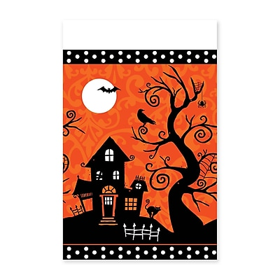 Amscan Halloween Frightfully Fancy Tablecover, 102