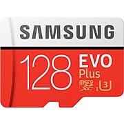Samsung EVO Plus MB-MC128HA/AM 128GB Flash Memory, microSDXC