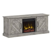 ClassicFlame Belcrest TV Stand with Electric Fireplace, Valley Pine (18MM71434-PI23S)