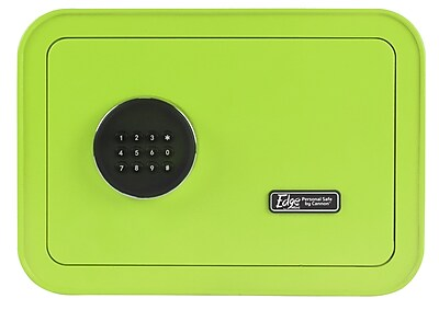 The EDGE Mini by Cannon™ Steel Green Home Safe (E913-CAPP-17)