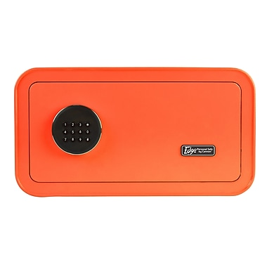 The EDGE Personal Safe by Cannon™ Steel Orange Home Safe (E916-CSUM-17)