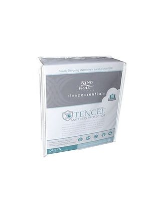 King Koil Tencel Mattress Protector, Twin (811742041714)