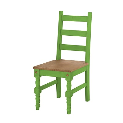 Manhattan Comfort Jay Dining Chair, Green Set of 2 (CS10104)