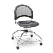 Moon Foresee Plastic Chair, Black (339-P-BLK)