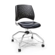 Stars Foresee Vinyl Chair, Navy (329-VAM-605)