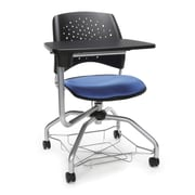 Stars Foresee Tablet Chair, Colonial Blue (329T-2204)
