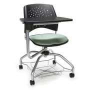 Stars Foresee Tablet Chair, Sage Green (329T-2207)