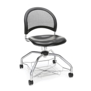 Stars Foresee Vinyl Chair, Charcoal (339-VAM-604)