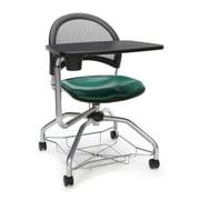 Moon Foresee Vinyl Tablet Chair, Teal (339T-VAM-602)