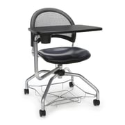 Moon Foresee Vinyl Tablet Chair, Navy (339T-VAM-605)