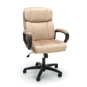 Essentials By OFM Plush Microfiber Office Chair, Tan (ESS-3082-TAN)