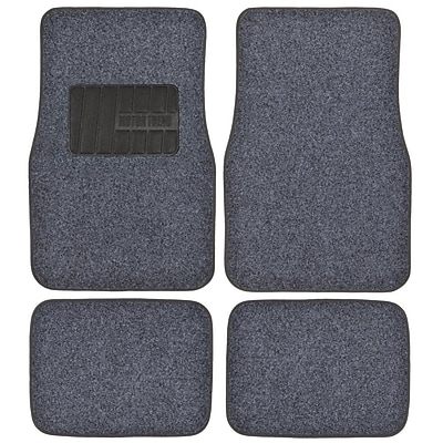 Motortrend MT-300-DG Plush Carpet Mat 4 PCS