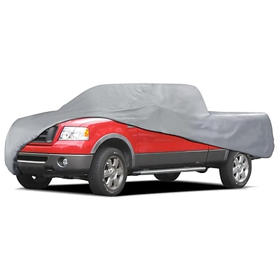 Motortrend TC-342 Deluxe 3-Layer Pickup Truck Cover (Ext & Crew Cab) 210x70x65 Waterproof