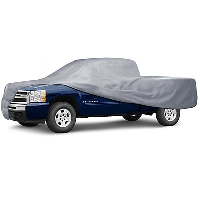 Motortrend TC-344 Deluxe 3-Layer Pickup Truck Cover (Ext. & Crew Cab) 232x75x65 Waterproof