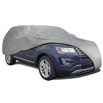 Motortrend VC-342-XL2 3 Layer Deluxe Van & SUV Truck Cover Waterproof