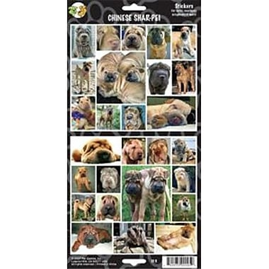 Clearance Item Pet Qwerks S13 Chinese Shar-Pei Dog Sticker (RYLHC11556)