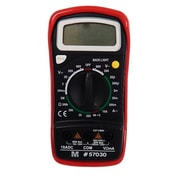 Morris Products Digital Multimeter With Rubber Holster (MSPR3221)