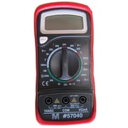 Morris Products Digital Multimeter With Rubber Holster And Temperature Probe (MSPR3222)