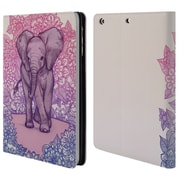 Official Micklyn Le Feuvre Animals Cute Baby Elephant Leather Book Wallet Case Cover For Apple Ipad Mini 1 / 2 / 3 (D_15_1AC90)