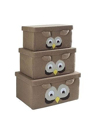 Bintopia Fabric Box Set Owl (88828)