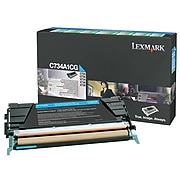 Lexmark C734 Cyan Standard Yield Toner Cartridge