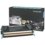 Lexmark C734 Black Standard Yield Toner Cartridge