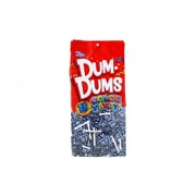 Dum Dums Lollipops, Color Party Blue, Blueberry Flavor, 12.8 oz., 75 Count Bag, 2 Pack (28800)