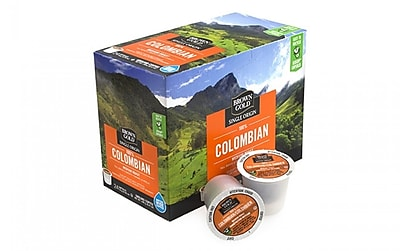 Brown Gold 100% Colombian Coffee K-Cups, 24 Count, 4 Pack (00305) 24255579