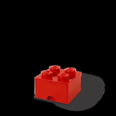 LEGO Storage Brick Drawer 4 Bright Red (40051730)