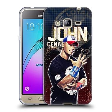 Official WWE Superstars John Cena Soft Gel Case For Samsung Galaxy J3 (C_1B6_1E26E)