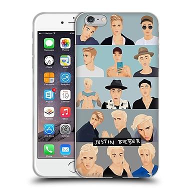 Official Justin Bieber Justmojis Faces Soft Gel Case For Apple Iphone 6 Plus / 6S Plus (C_10_1CA59)