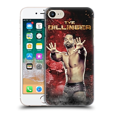 Official WWE Tye Dillinger Led Image Hard Back Case For Apple Iphone 7 / Iphone 8 (9_1F9_1FF8A)