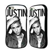 Official Justin Bieber Purpose Calendar Black And White Hybrid Case For Apple Iphone 5 / 5S / Se (A_D_19B45)