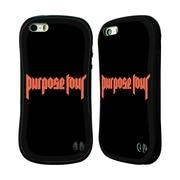 Official Justin Bieber Tour Merchandise Logo Hybrid Case For Apple Iphone 5 / 5S / Se (A_D_1CA65)