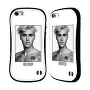 Official Justin Bieber Tour Merchandise Sorry Face Hybrid Case For Apple Iphone 5 / 5S / Se (A_D_1CA64)