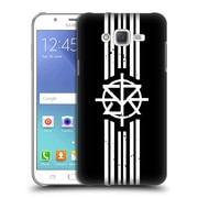 Official WWE Seth Rollins Striped Logo Hard Back Case For Samsung Galaxy J7 (9_D6_1D916)
