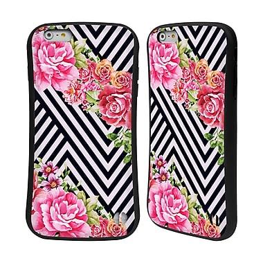 Official Mark Ashkenazi Florals Flower Geometric Hybrid Case For Apple Iphone 6 Plus / 6S Plus (A_10_1A719)