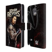 Official WWE Superstars Roman Reigns Leather Book Wallet Case Cover For Samsung Galaxy Note 4 (D_A5_1E2F3)