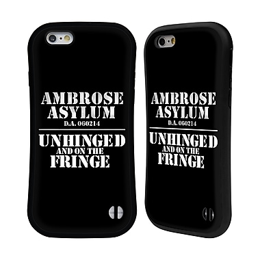Official WWE Dean Ambrose Asylum Unhinged Hybrid Case For Apple Iphone 6 / 6S (A_F_1D937)
