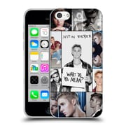 Official Justin Bieber Purpose Grid Poster Soft Gel Case For Apple Iphone 5C (C_E_19B48)