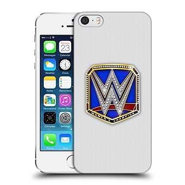 Official WWE Title Belts Smackdown Women's Champion Hard Back Case For Apple Iphone 5 / 5S / Se (9_D_1E3EB)