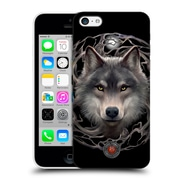 Official Anne Stokes Wolves 2 Night Forest Hard Back Case For Apple Iphone 5C (9_E_1EBC5)