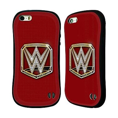 Official WWE Title Belts Universal Champion Hybrid Case For Apple Iphone 5 / 5S / Se (A_D_1E3E9)